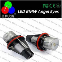 Factory supply led angel eye for BMW E90 E60 E87 with power packs C ree Chips Led Angel Eye Led Marker H8 with fan