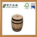 Handmade China manufacturers decorative oak wooden coffee bean barrels