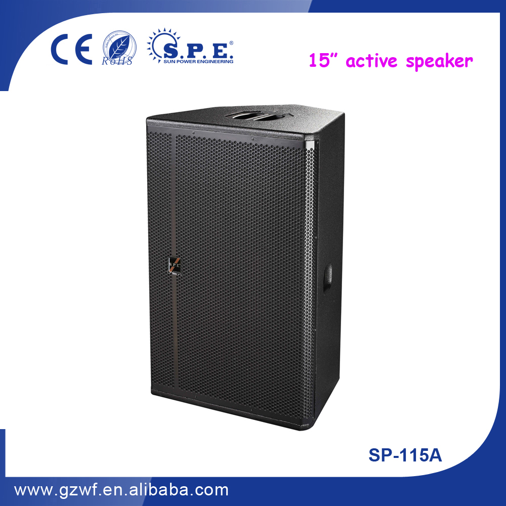 High SPL 15 inch Pro Chinese Active Speaker SP-115A