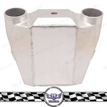 Universal water to air intercooler kits, water to air heat exchanger radiator
