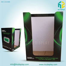 Point of Sale Counter Top Display,Counter Display Unit for blue speaker