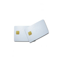High Quality Contact SLE4442 AT24C64 IC PVC Blank Chip Card