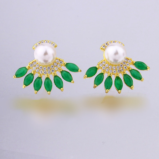 hot selling products imitation pearl earring women jewelry
