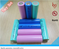 Hot sell 2000mAh 2200mAh 18650 3.7V cylinder lithium ion lithium battery