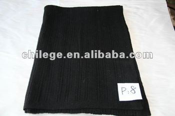 wool/cashmere blended knitted scarf