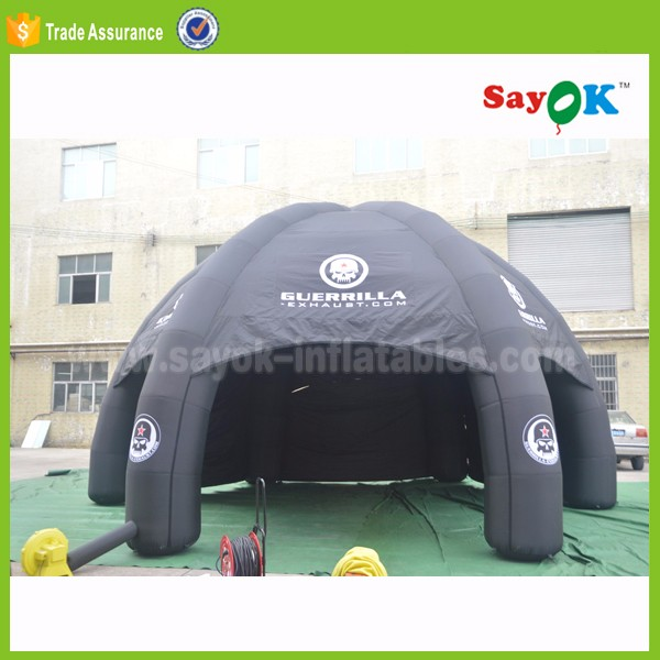 outdoor used inflatable car garage tent camping inflatable event spider tent for sale