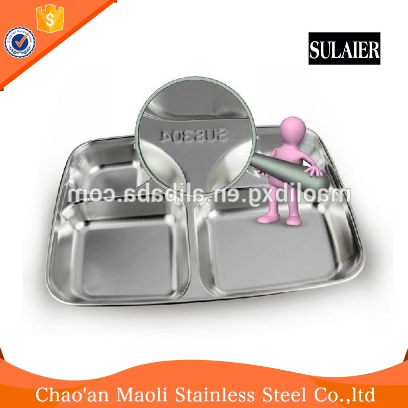 High Quality And Good Price Lids Stainless Steel Lunch Box With Compartment Lock