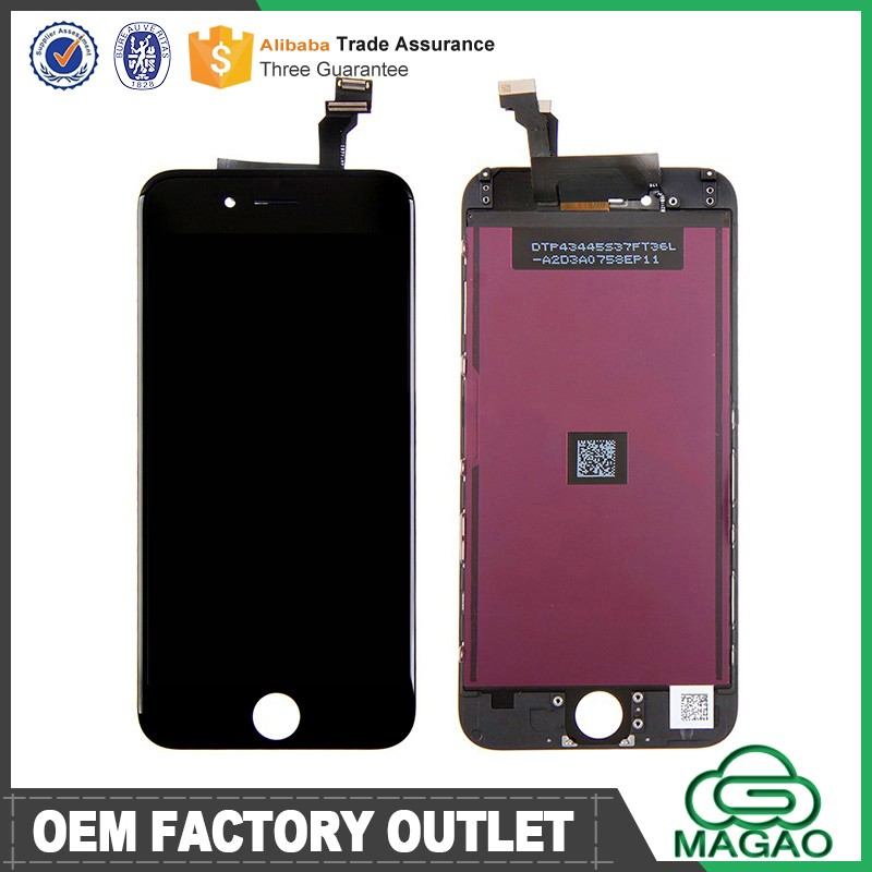 China Supplier accessories for Apple iPhone 6 LCD Screen Replacement, LCD Touch Screen Digitizer for iPhone 5 5c 5s 6 6 plus