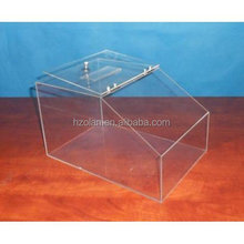 plexiglass candy box, retail store supermarket acrylic candy bin and dry food container