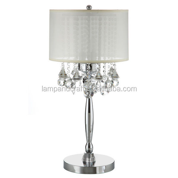lamp shade for living room or hotel buy modern silver table lamp