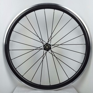 700C 50mm Carbon Alloy Brake Side Clincher Carbon Road Bike Wheelset Aluminum Braking Wheel