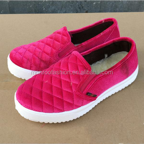 Monroo Thickness of women 's shoes plus warm cotton fashion women' s cotton shoes women 's cotton shoes slippers