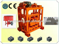 QTJ4-40B2 Cement Block Making Machine/ Hollow Blocks Making Machinery/ Very Cheap Small Capacity Brick Machine Suitable For Home