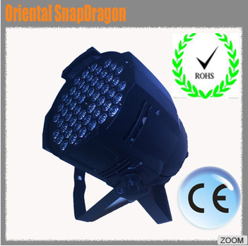 taobao par can light price led 54 3w par light led light