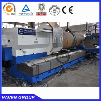 horizontal heavy duty CNC lathe machine CW61160 8000