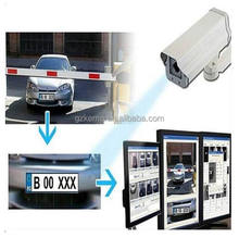 license plate recognition smart parking system