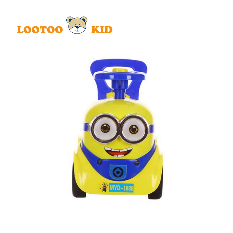 Alibaba china factory hot sale plastic dry cell light and music ride on toy driving cars for kids