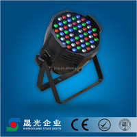 RGBW 54x3w LED par light stage light
