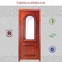 Melamine wooden door with villa interior door design
