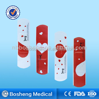 Bosheng meidcal adhesive wound plaster with CE/FDA/ISO