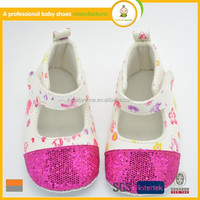 New arrival hot sale high quality beautiful fashion pink twinkle princess kids baby dress shoes