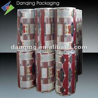 Plastic laminating film for snack food packaging in roll