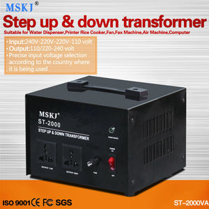 ST-5000w step up & down Voltage Converter for fax