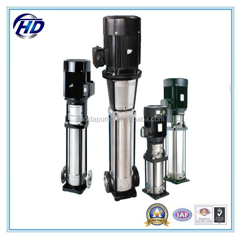 CDL/CDLF stainless steel high pressure water pump centrifugal vertical multistage pump