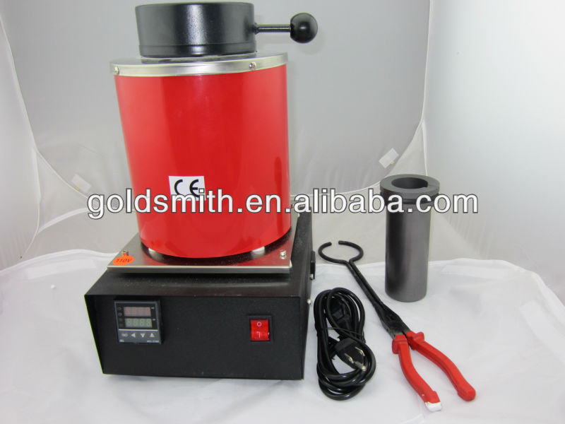 mini silver jewelry melting furnace , gold melting electrical furnace