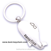 promotional customized metal airplane key chain (BBK10543)