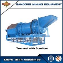 Gold trommel screen machine for sale