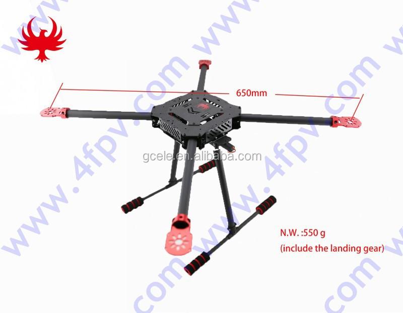 Gf Qf650 650mm Umbrella Foldable Quadcopter Carbon Fiber