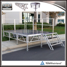 Movable aluminum truss stage exhibition stage equipment