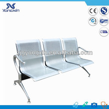Chromed steel chair furniture/hospital waiting room chairs YXZ-039