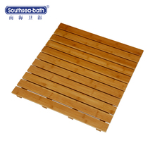 Factory Direct Supply Bathroom Accessories/Bamboo Shower Mats for Sale