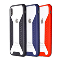 DFIFAN for iphone 10 accessories, durable 4H acrylic back cover colorful soft tpu sides cases for iphone x
