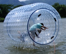 commercial grade human hamster inflatable water wheel