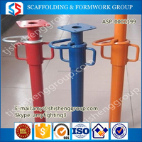 Q235 Steel Frame Type Scaffolds shoring system scaffolding prop sleeve For Sale