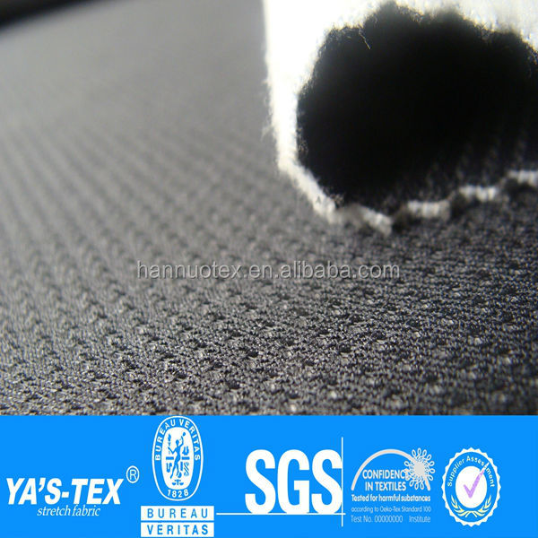 mesh bonded polar fleece fabric for jacket