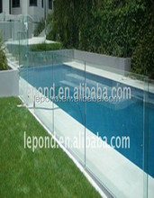 8mm-12mm tempered glass parapet