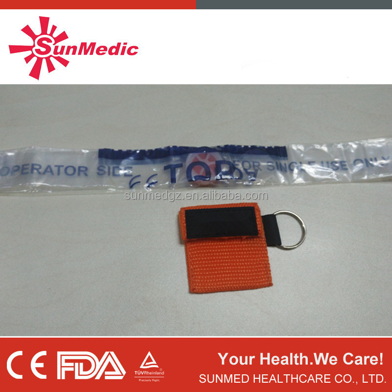 CPR face mask, CPR Mask Key chain, CPR Face shield
