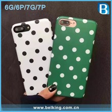 Polka Dot IMD TPU Case For iPhone 6 6Plus 7 7Plus, For iPhone 7 Mobile Phone Accessories