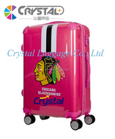 2016 Royal Trolley Luggage and Clear Shell Customize PC Luggage