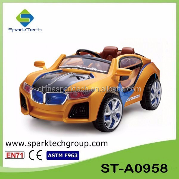 Cheap Plastic Power Wheel Children Electronic Toy Car