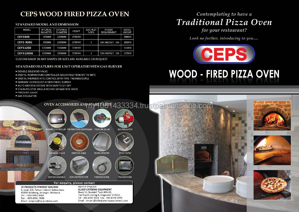 CEPS Pizza Oven