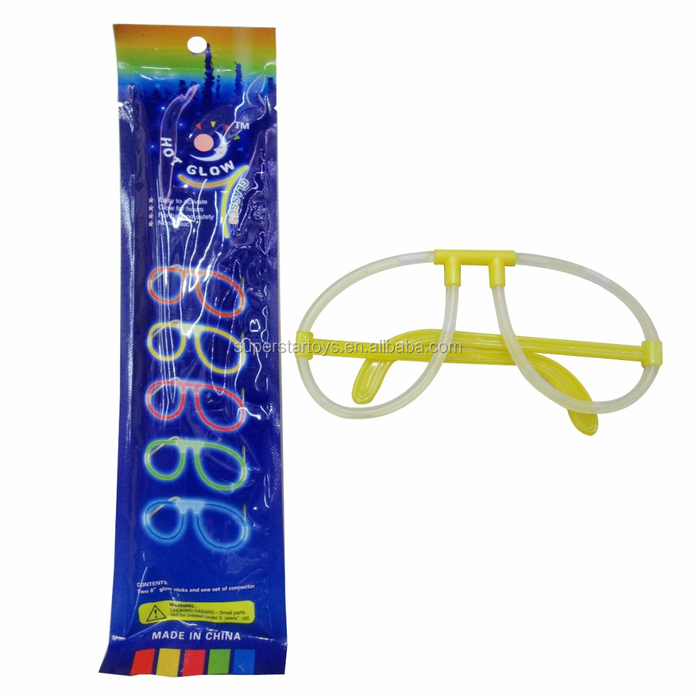 5170722-11disposable glow up stick made party glasses, toy glasses for party playing use