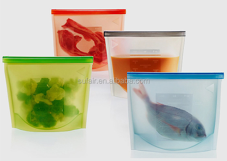 Bulk products from china Reusable Vacuum silicone Fresh Bag