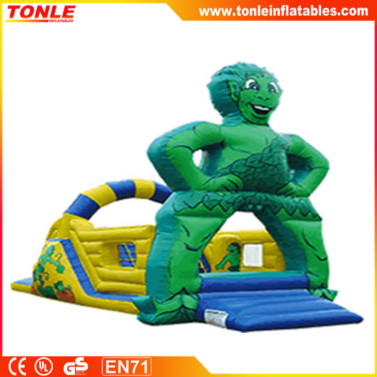 Jolly Green Giant bouncer, inflatable jumper, inflatable moonwalk
