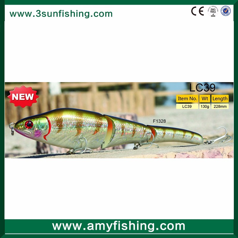 High quality hard fishing lure swim bait joint bait