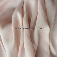 double-sided Sea-island (fiber/filament) satin fabric for girl cloth